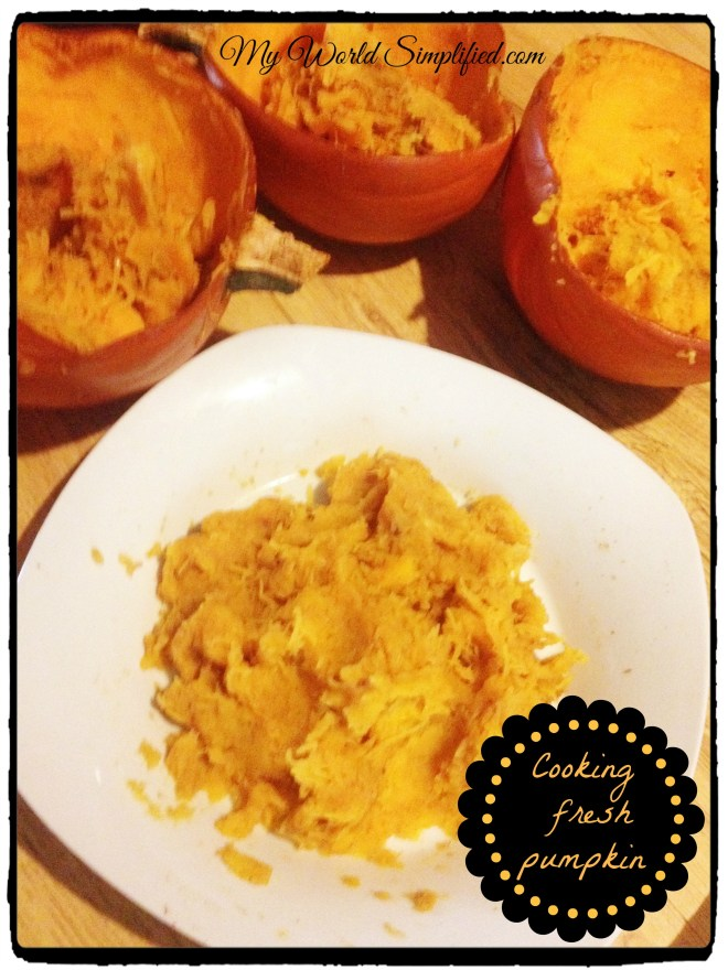 how to cook fresh raw pumpkin