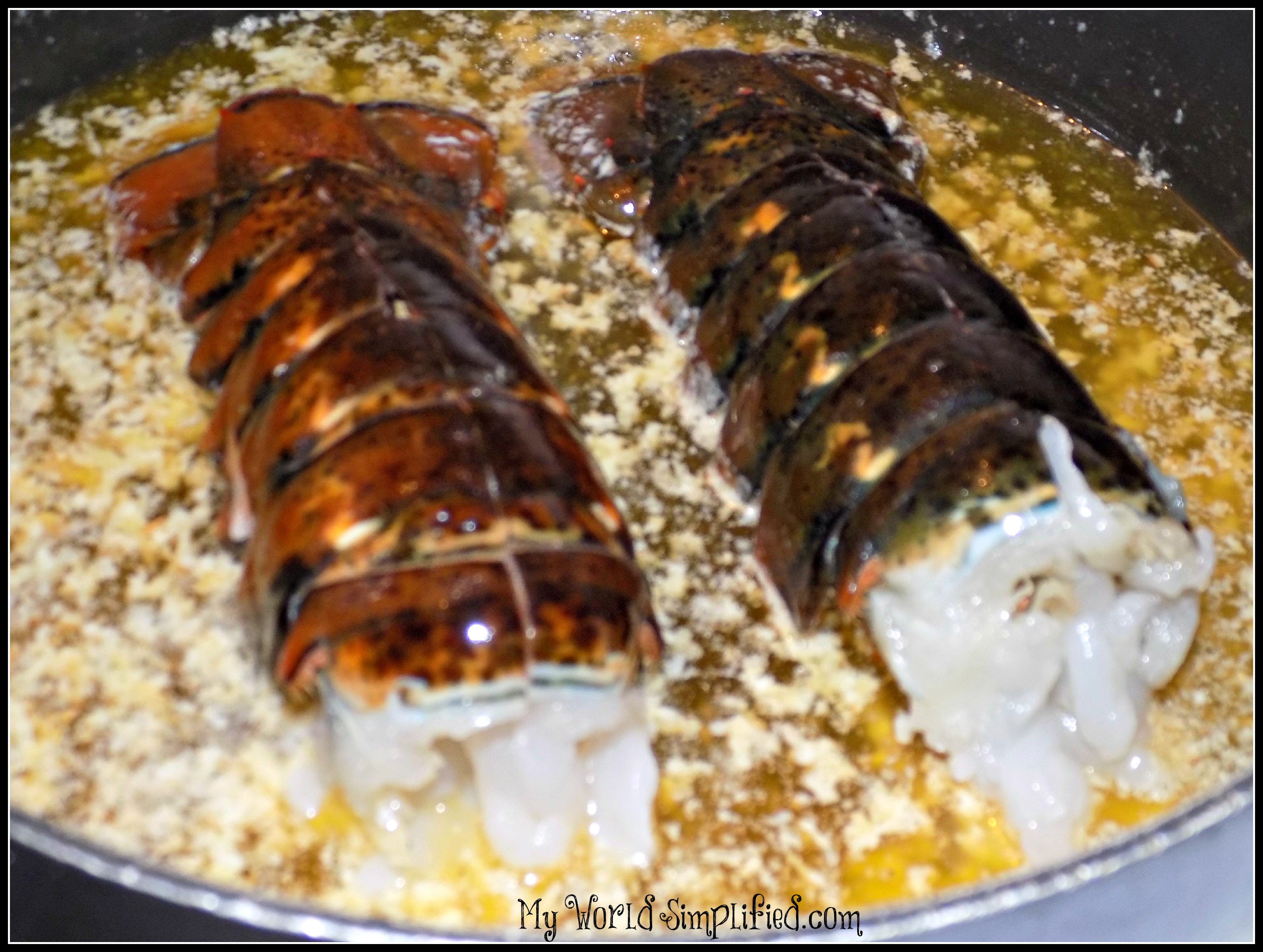 how to make lobster tail