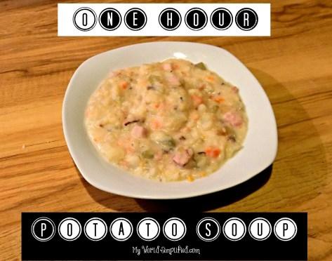 one hour potato soup