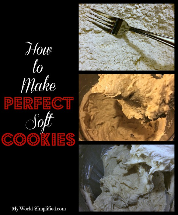 How to make perfect soft cookies