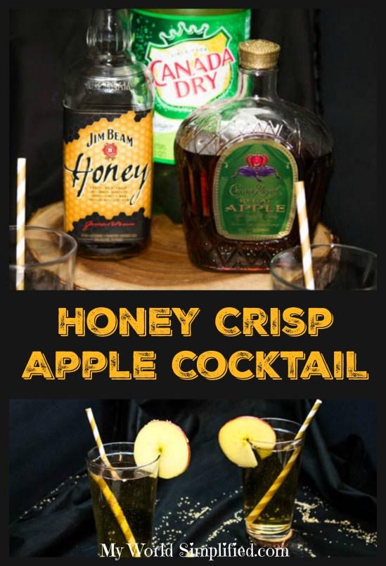 Honey Crisp Apple Cocktails