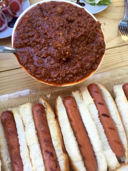 Chili dog sauce