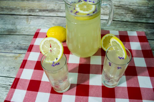 Lavender Infused Lemonade Recipe - myworldsimplified.com