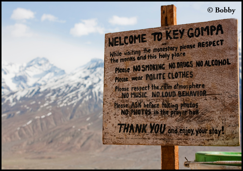 Welcome to Key Gompa