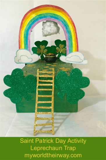 Saint Patrick Day Activity - Leprechaun Trap