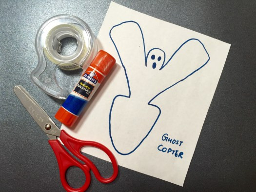 Ghost copter - an aerodynamic science project