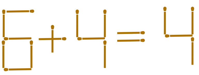 MatchStick Puzzle - Lateral thinking puzzles. Solving equations. Elementary aged kid puzzles