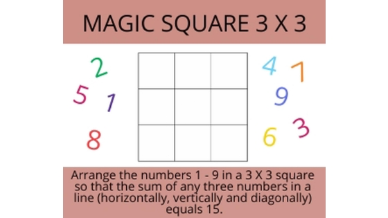 magic square 3 x3