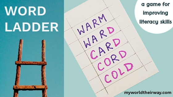 word ladder blog title