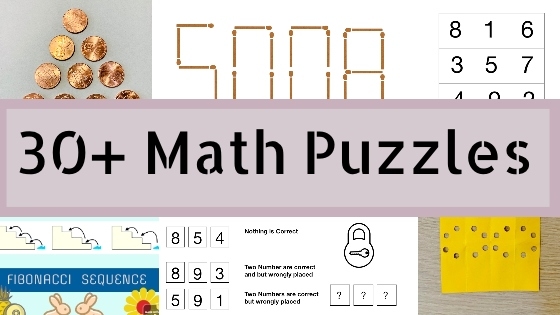 30 math puzzle