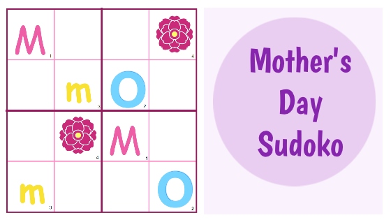 Mother's Day Sudoko Blog Title