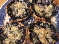 blueberry tartlets baked 2017