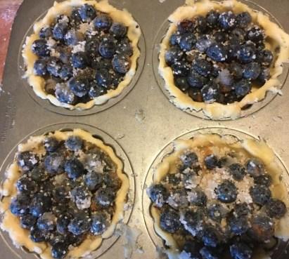blueberry tartlets unbaked 2017
