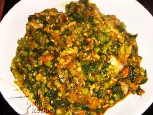 A RECIPE FOR OGBONO SOUP WITH OKRO 2