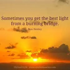 FOOD FOR THOUGHT - BURN THE BRIDGES 4