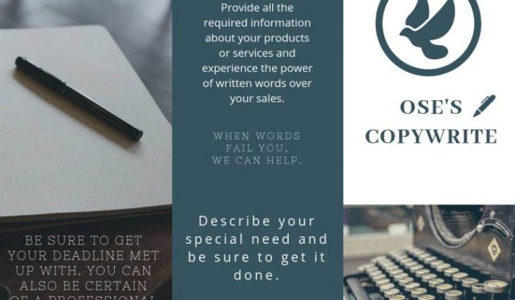 OSE'S COPYWRITING SERVICES