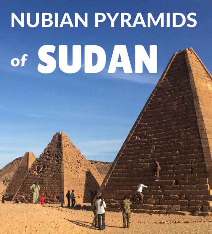 NUBIAN PYRAMIDS OF SUDAN - BY GHOZKY 1