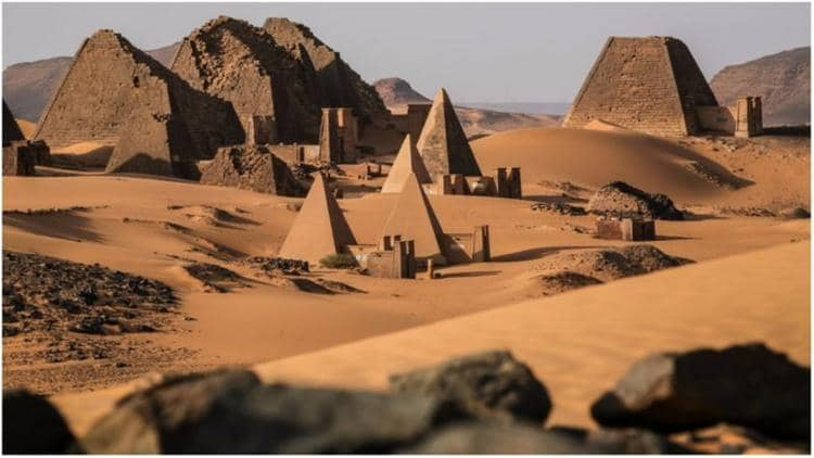 NUBIAN PYRAMIDS OF SUDAN - BY GHOZKY 5