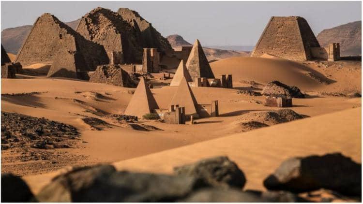 NUBIAN PYRAMIDS OF SUDAN - BY GHOZKY 5