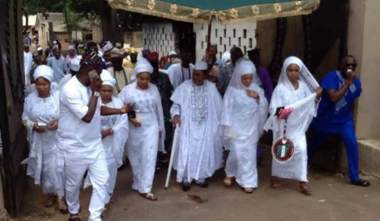 EIGHT MOST POWERFUL WOMEN IN THE PALACE OF THE ALAAFIN SINCE THE TIME OF OLD OYO EMPIRE FROM OYO-ILE: 1