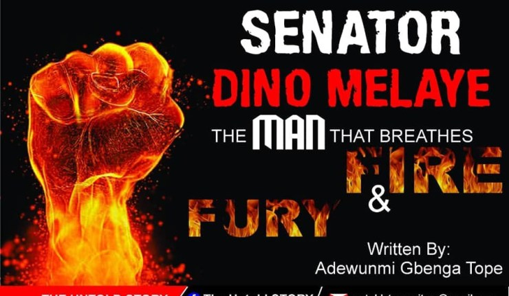 DINO MELAYE: THE MAN THAT BREATHES FIRE AND FURY 1