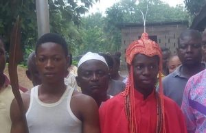 MEET THE 16-YEARS-OLD OBA ADEYEOBA OLOYEDE ADEKOYA; THE ARUJALE OF OKELUSE, ONDO STATE 1