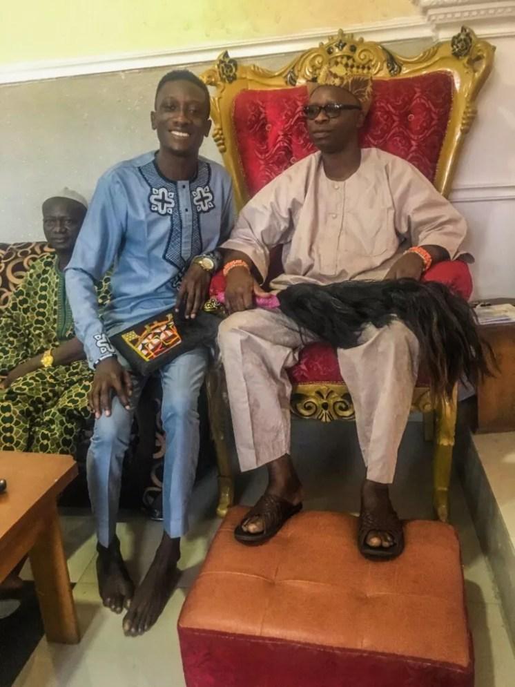 Johnson Okunade and Alapa