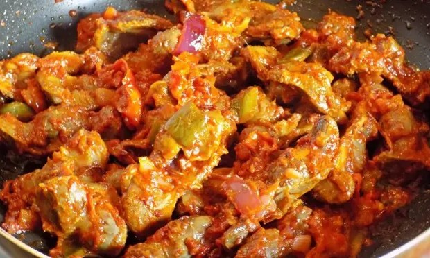 Nigerian Peppered Gizzards
