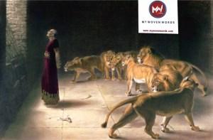 Daniel in Lion den
