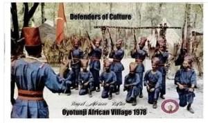 OyoTunji in 1978