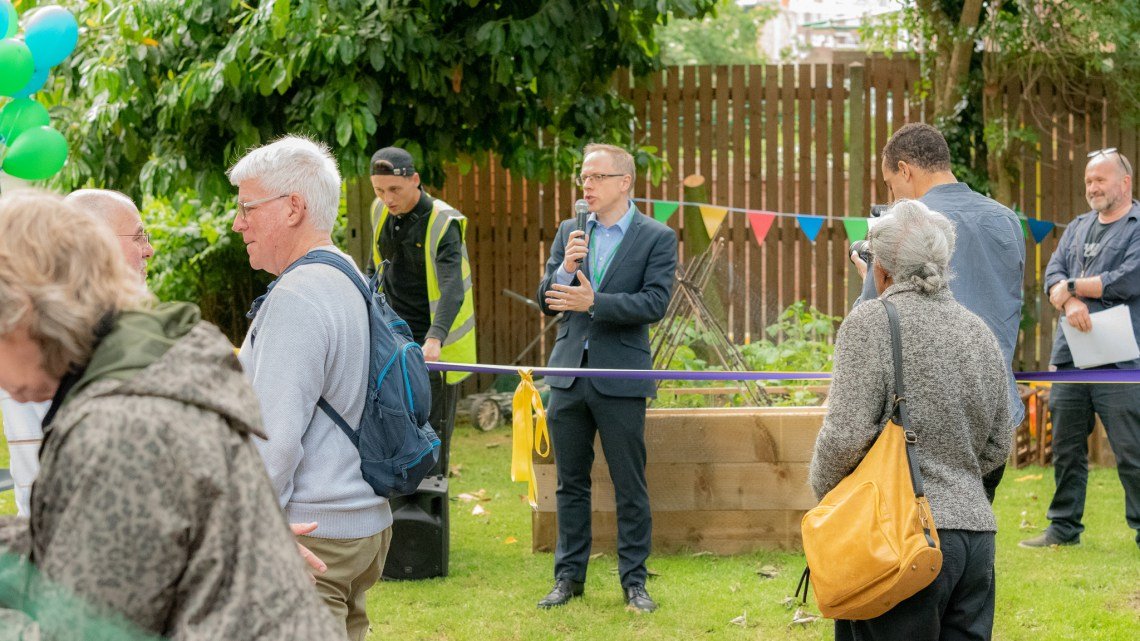 Photos from the Kitchen Garden launch party