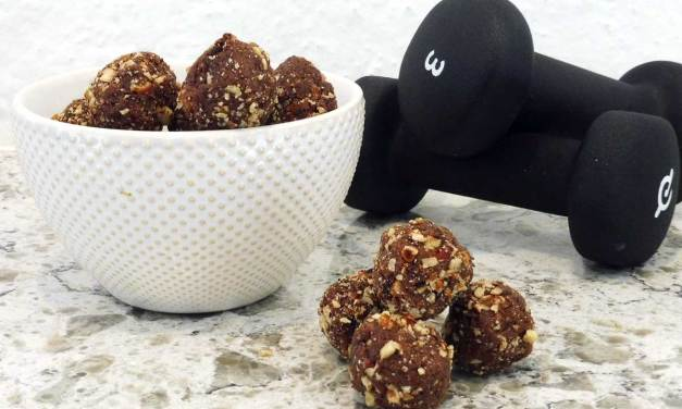 Chocolate Espresso Protein Balls