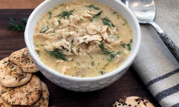 Greek Lemon Chicken Soup – AKA YAYA Soup