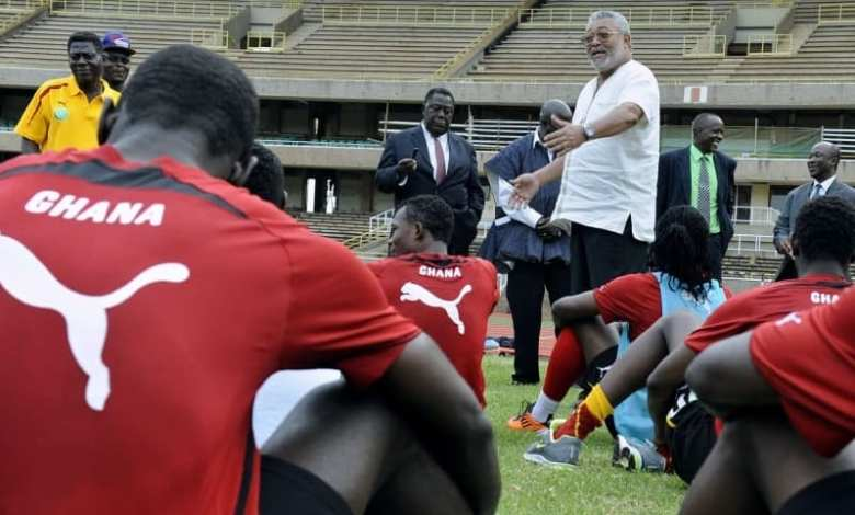 LIVE UPDATES: How President Rawlings won the last African Cup of Nations  with the Blackstars - My XYZ Online