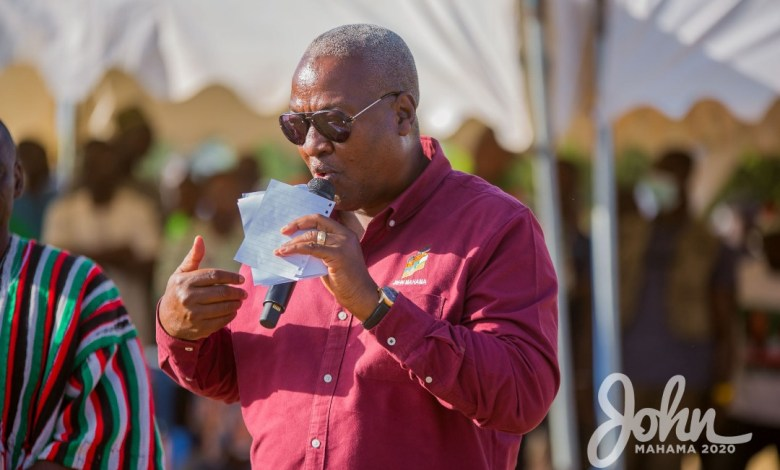 Photo of Akufo-Addo is asking for 4 more years to steal more – Mahama punches