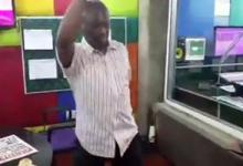 Photo of Exclusive Video: Kweku Baako danced to the appointment of Martin Amidu as special prosecutor