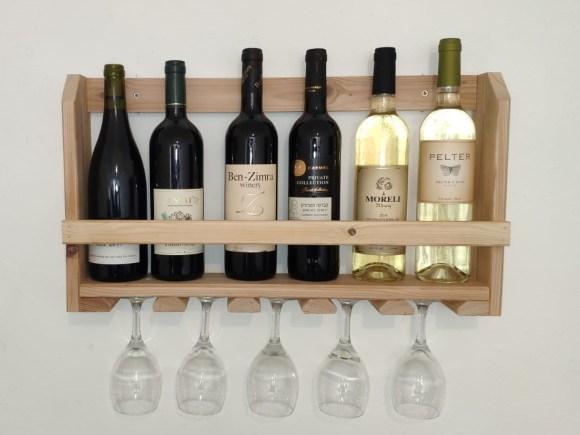 מדף יין