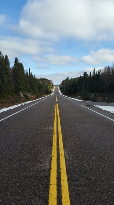 Highway 60 through the park