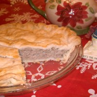 Grammy Brouillette's French Canadian Meat Pie - - Filling Can Be Used as a Stuffing