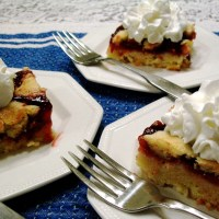 Quick and Easy Cherry Squares
