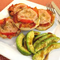 Quick Lunch or Dinner - Hot Open-Faced Sandwiches