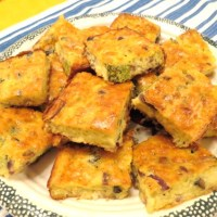 'Grab 'n Go' Crustless Quiche Squares