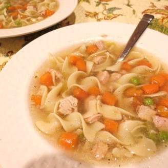 'Saturday After Thanksgiving' Turkey Soup - My Yellow Farmhouse.com