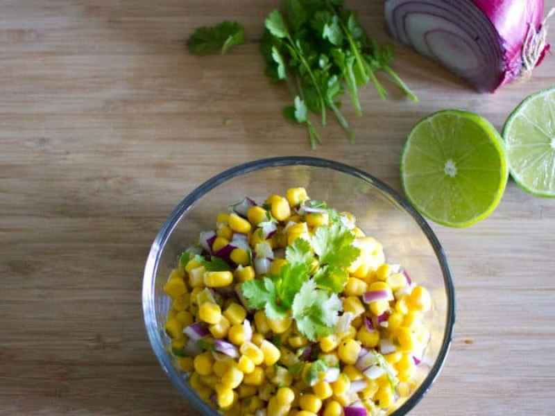 Easy, yummy corn salsa