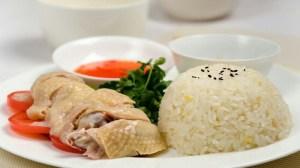 nasi ayam,