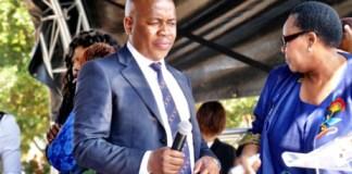 Ekurhuleni Mayor Mzwandile Masina