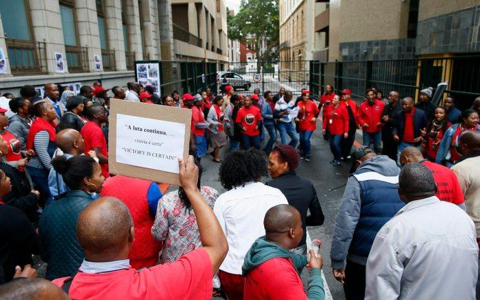 SASSA workers strike