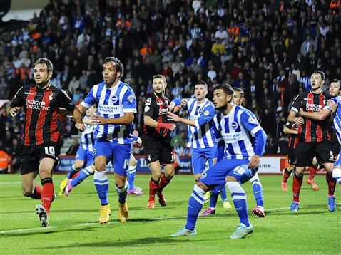 Bournemouth vs Brighton Hove