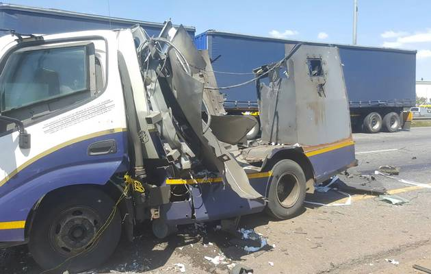 Cash in transit Heist East Rand