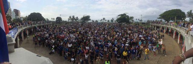 Zuma Must Go protest